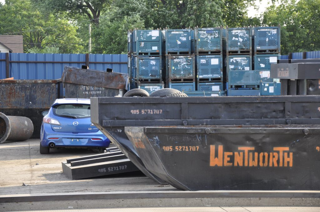 Wentworth metal recycling for businesses.