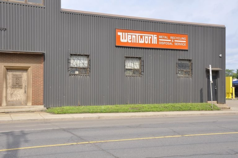 Wentworth Metal Recycling Building Front.