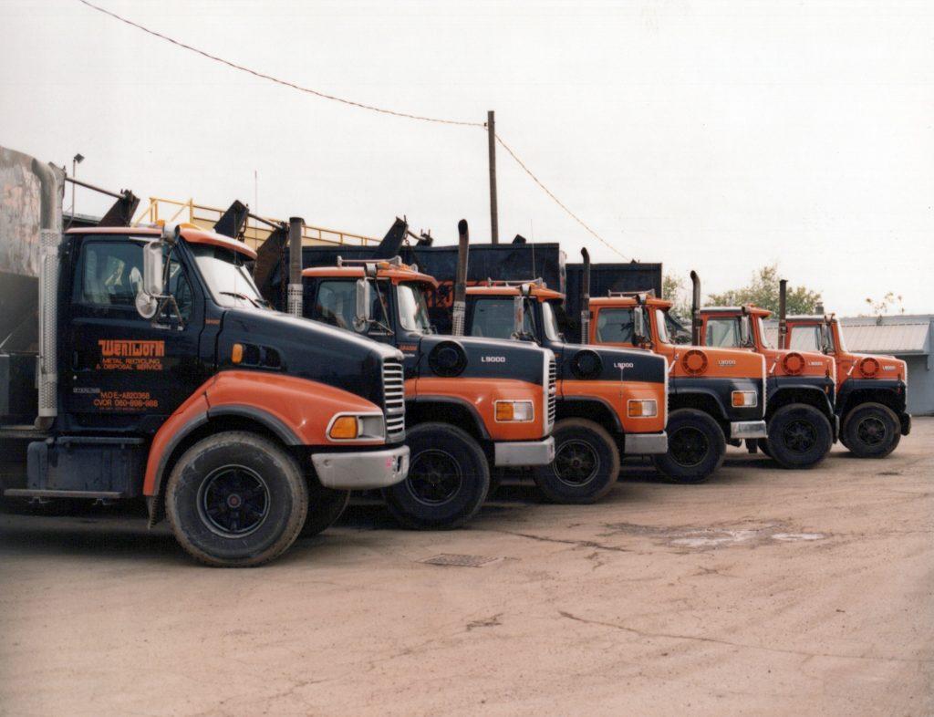 Wentworth Metal Recycling Trucks.