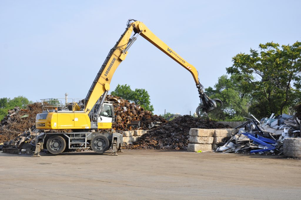 Wentworth Metal Recycling equipment.