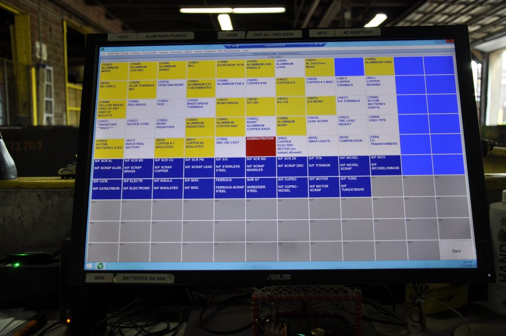 Inventory category tracking system.