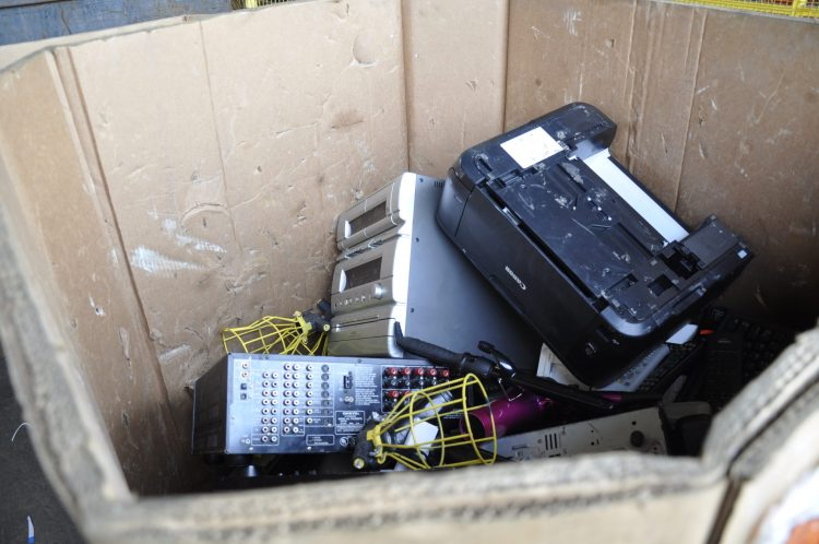 Waste Management of old electronics.