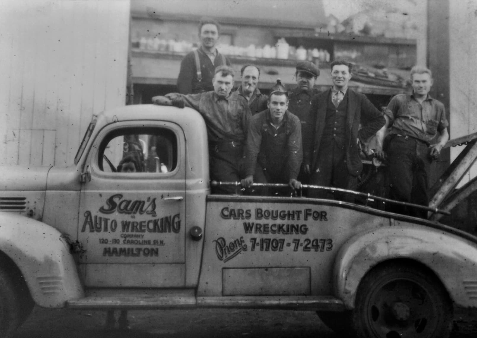 wentworth-metal-recycling-sams-auto-wrecking-historical-classic-scrap-car